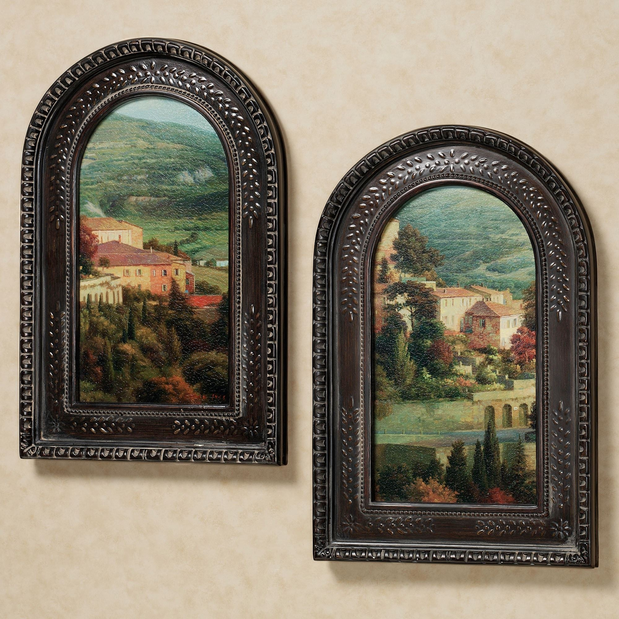 Italian Overlook Framed Wall Art Set For Most Up To Date Cheap Framed Wall Art (View 14 of 20)