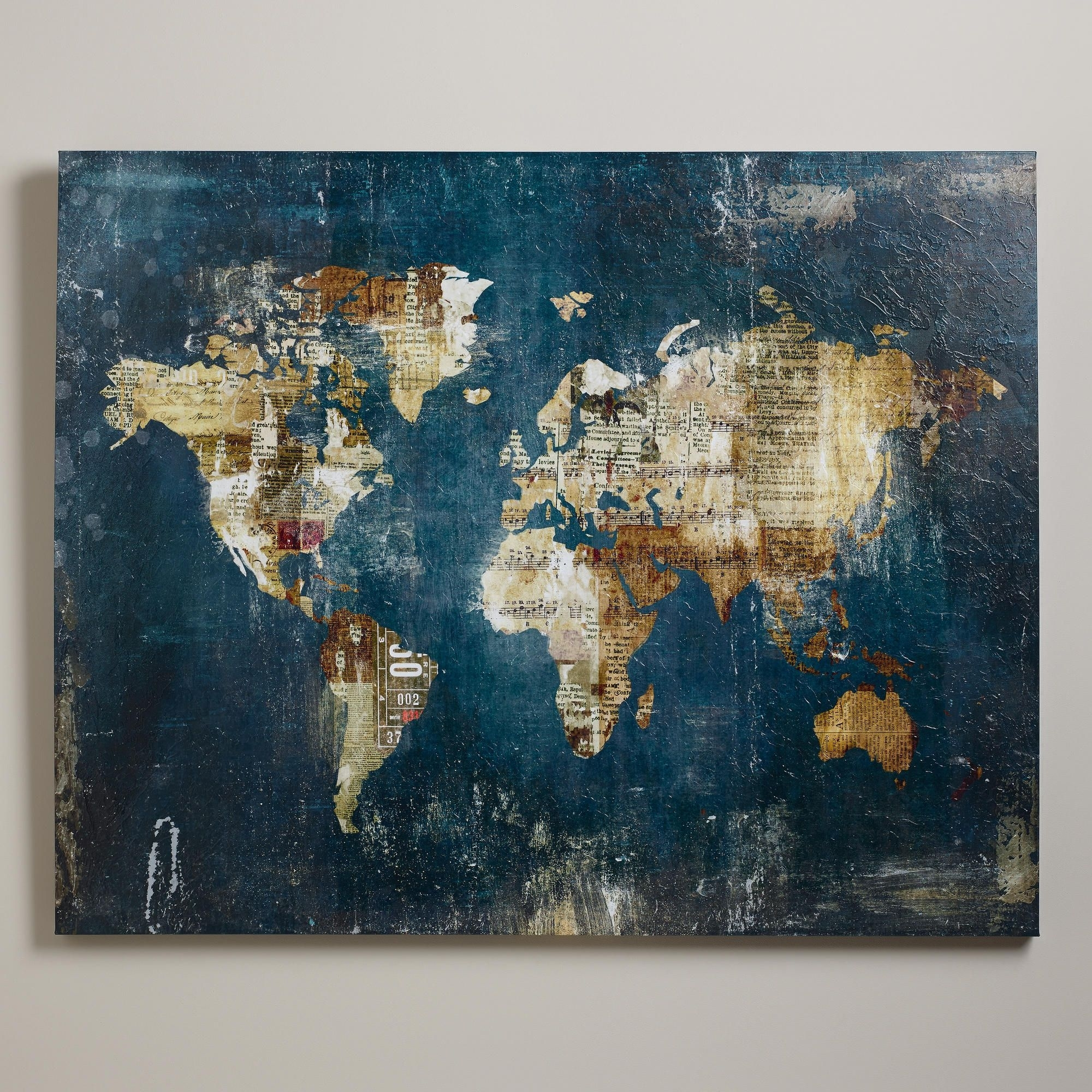 I've Saved So Many Things From My Travelsi Could Modpodge Them To With 2018 World Market Wall Art (Gallery 10 of 20)