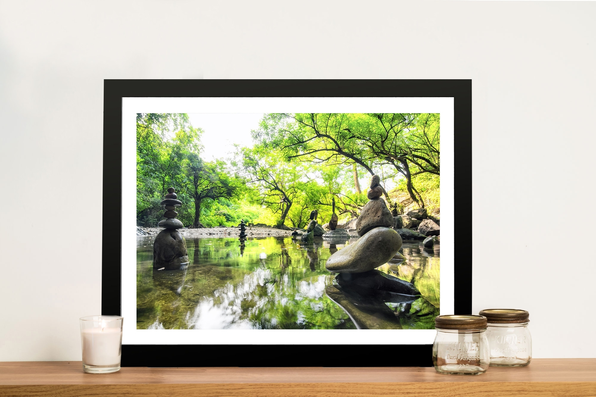 Japanese Garden Tranquility Canvas Print Adelaide For Best And Newest Japanese Wall Art (View 12 of 20)