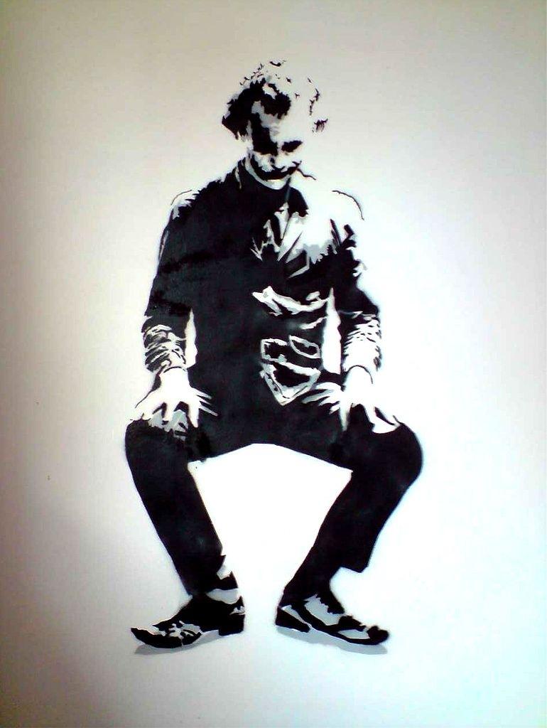 Joker Stencildocik On Walldocik On Deviantart Pertaining To Newest Joker Wall Art (View 13 of 20)