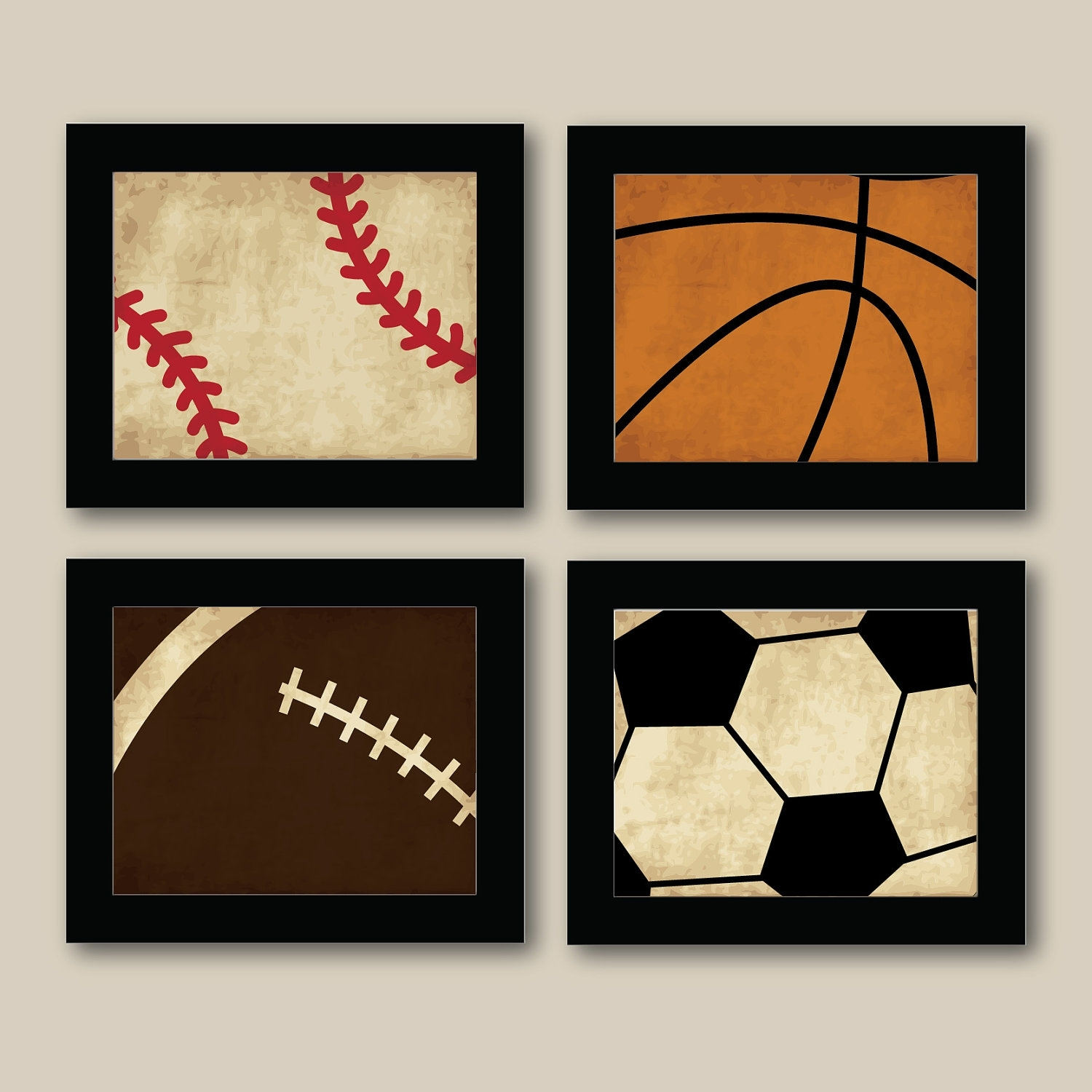 Kids Sports Wall Art – Elitflat Regarding Most Recent Sports Wall Art (View 5 of 20)