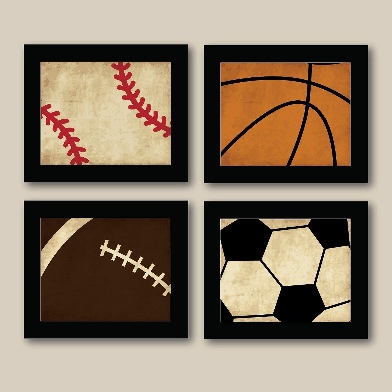 Kids Sports Wall Art – Elitflat Regarding Most Recent Sports Wall Art (Gallery 5 of 20)
