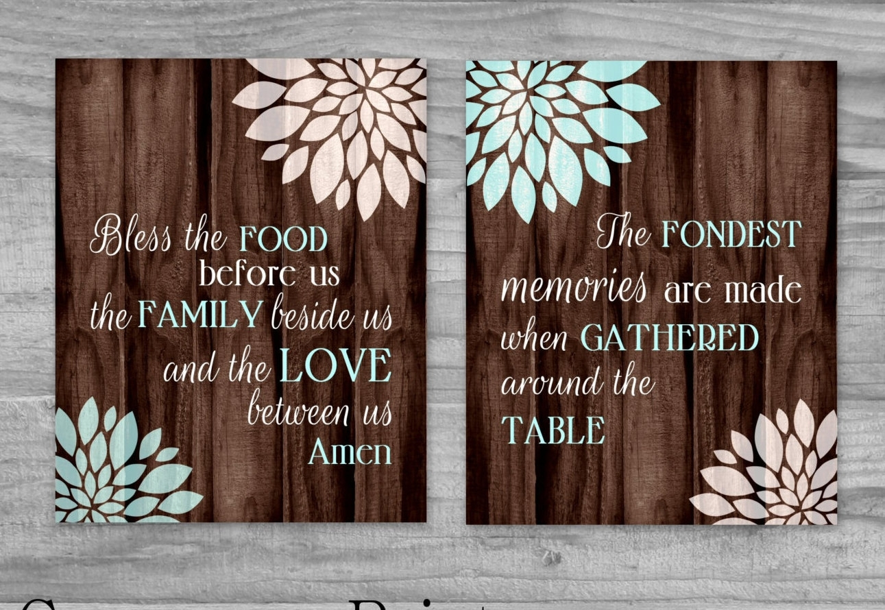 Kitchen Art Canvases – Kitchen Ideas Intended For 2017 Kitchen Canvas Wall Art Decors (View 13 of 20)