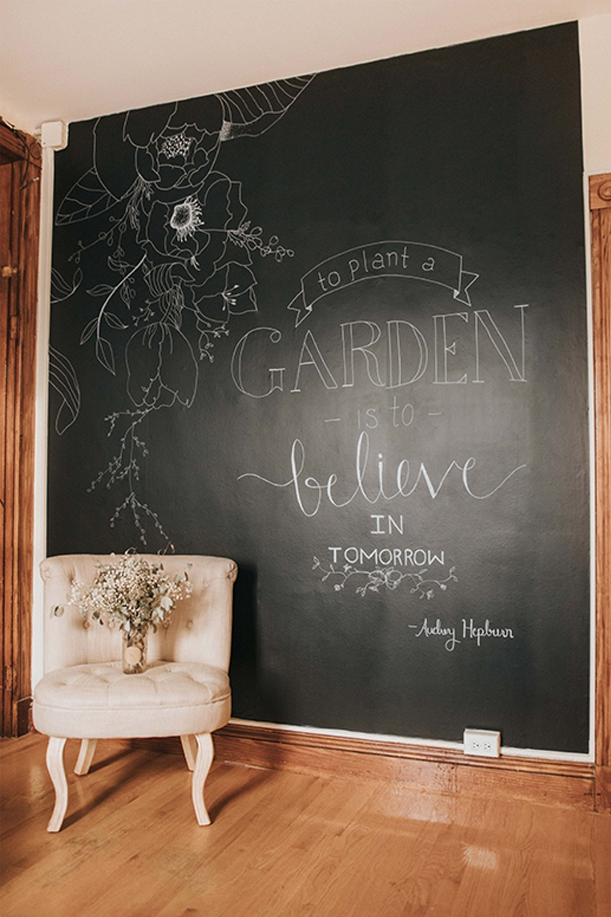 Kitchen : Chalkboard Color Kitchen Chalkboard Wall Art Decorative For Recent Chalkboard Wall Art (View 15 of 20)