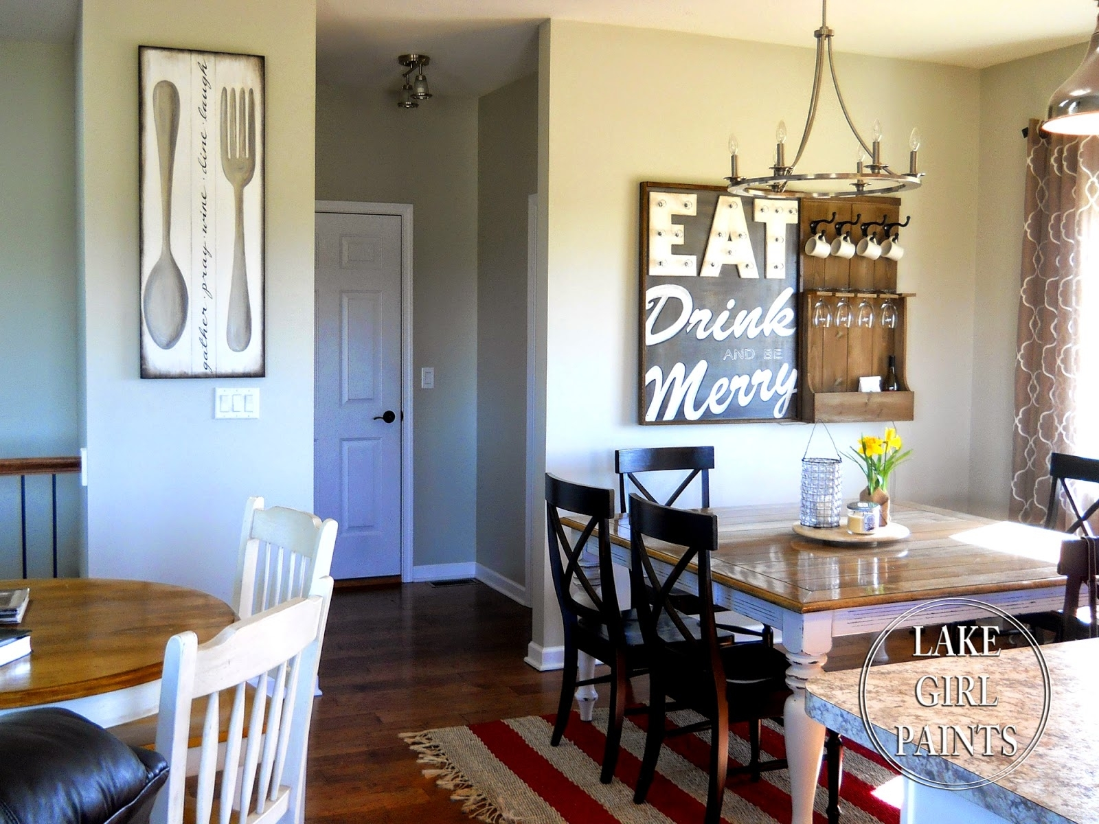Lake Girl Paints: Making Dining Room Wall Art With Most Recently Released Dining Room Wall Art (View 13 of 15)