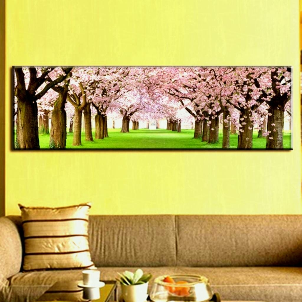 Large Canvas Wall Art Framed Prints Alley Home - Creative Living with Newest Large Framed Canvas Wall Art