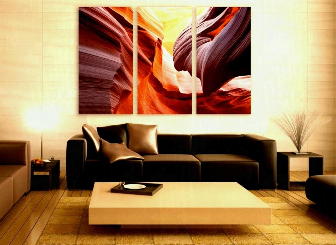 Large Canvas Wall Art In Current Arizona Canyon Print Panels Decor Inside Most Recently Released Arizona Wall Art (Gallery 5 of 20)