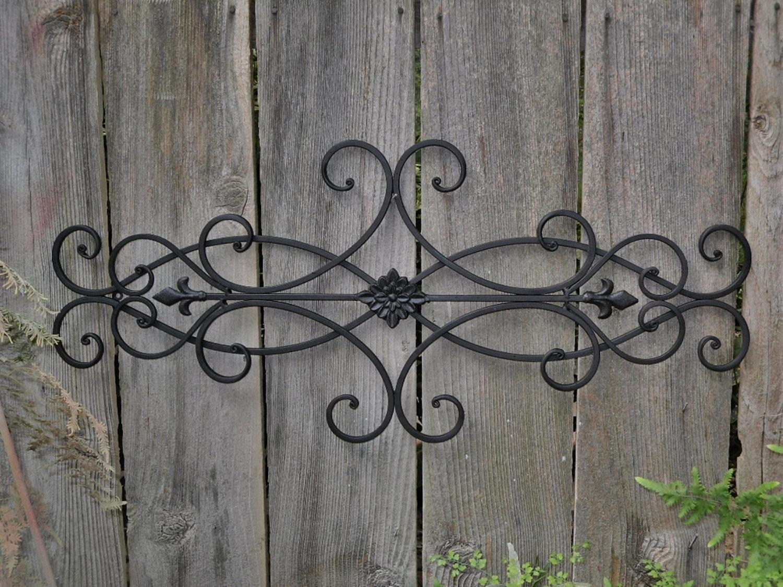 Large Iron Wall Decor Ideas | Jeffsbakery Basement & Mattress pertaining to Newest Iron Wall Art
