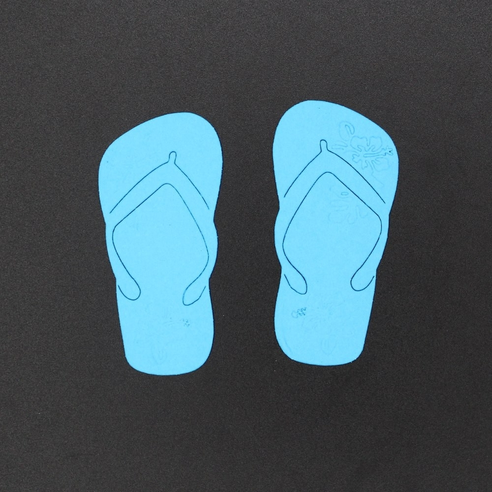 Large Metal Flip Flop Wall Art Inspirational 70 34Mm Embossing Regarding Recent Flip Flop Wall Art (View 9 of 15)