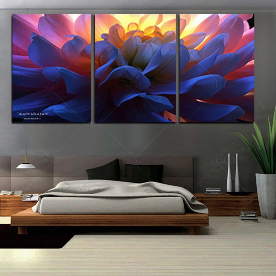 Large Paintings For Cheap Oversized Wall Art 3 Piece Canvas Art Diy within Most Recent Cheap Oversized Canvas Wall Art