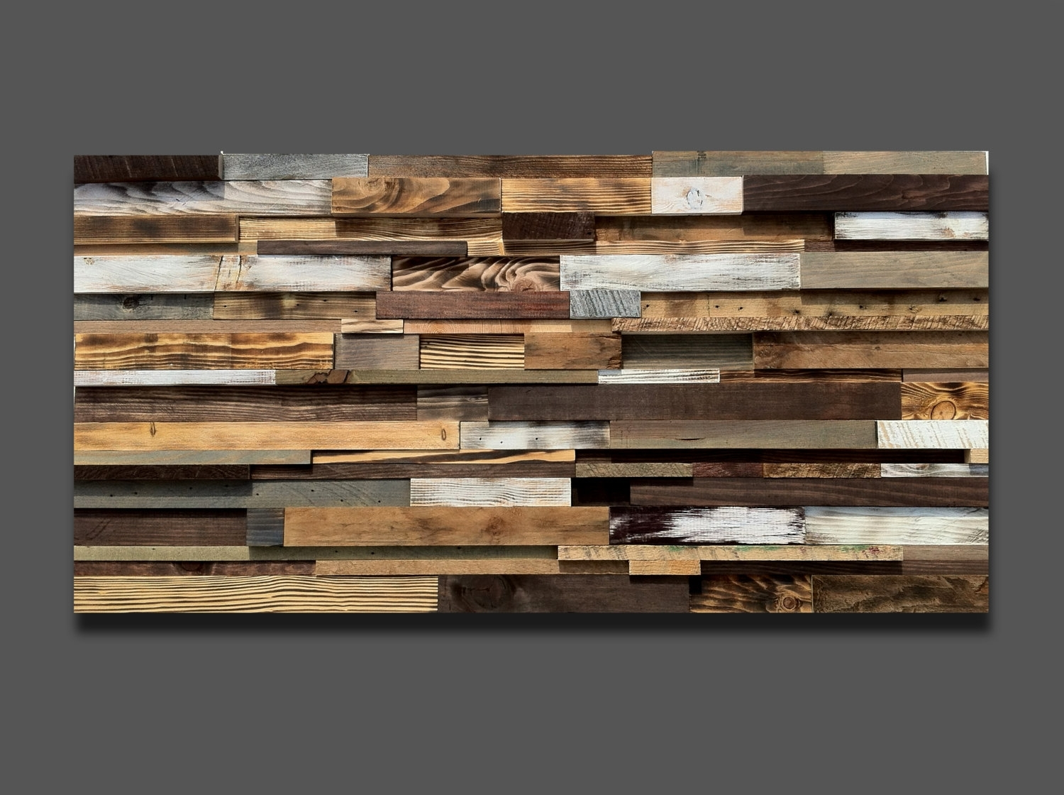 Large Reclaimed Wood Wall Art | Migrant Resource Network within Most Popular Large Rustic Wall Art
