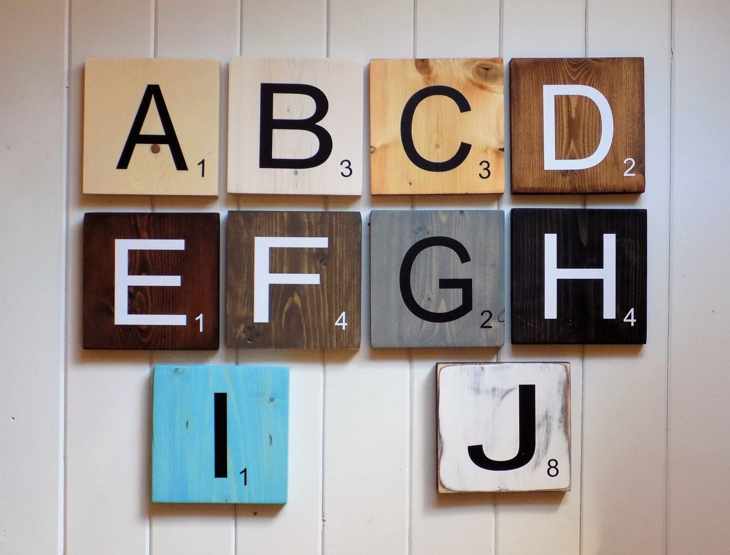 Large Scrabble Tiles, Scrabble Tiles, Scrabble Wall Art, Gallery Pertaining To Current Scrabble Wall Art (View 14 of 20)