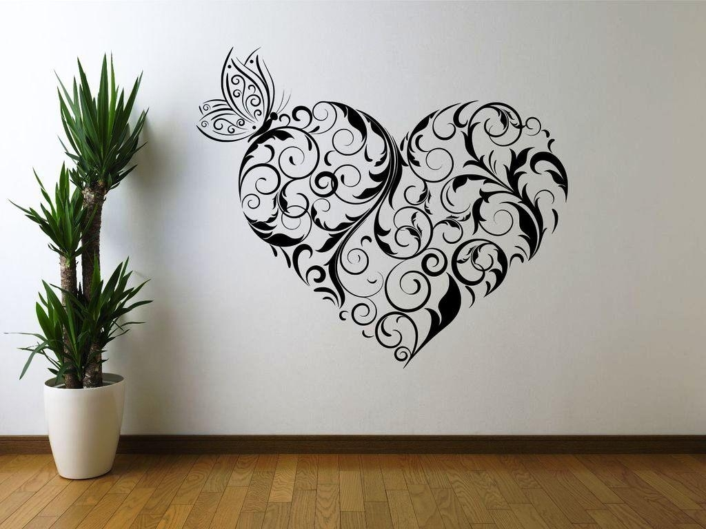 Large Stencil Wall Art : Andrews Living Arts - As Brightness Of The pertaining to Recent Stencil Wall Art