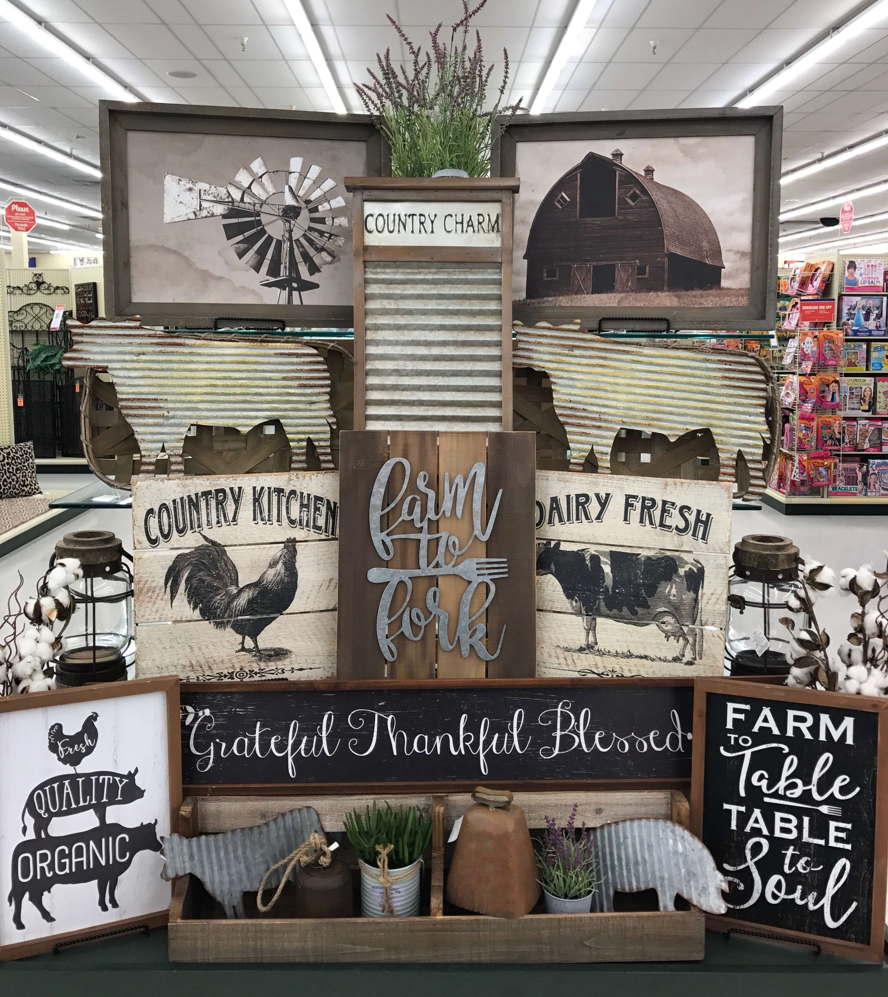 Laundry Room Decor Hobby Lobby Awesome 27 Beautiful Country Kitchen Throughout Most Recent Hobby Lobby Wall Art (View 7 of 20)
