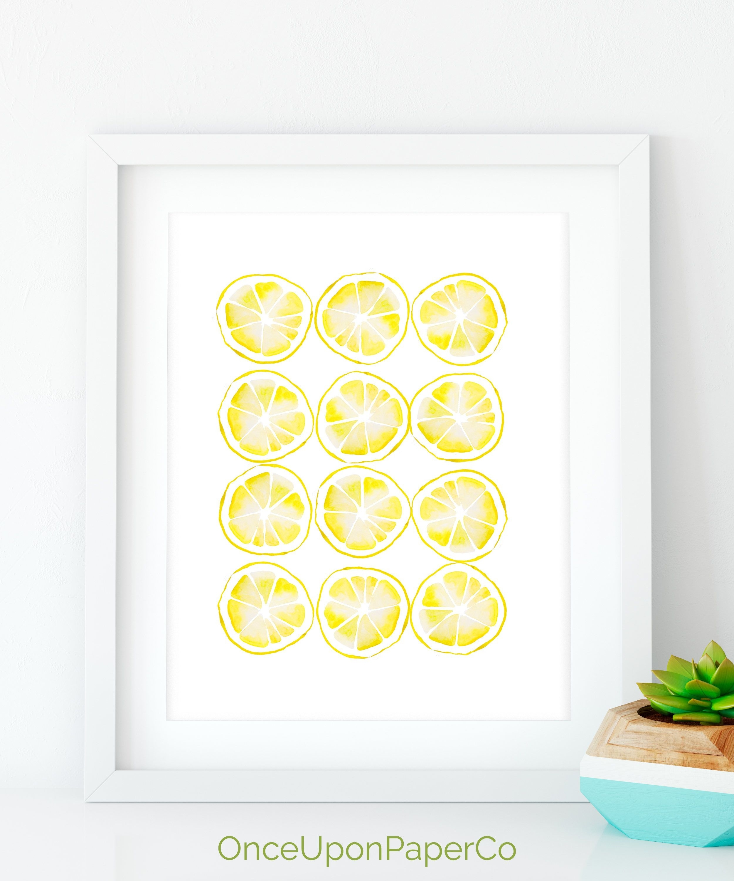 Featured Photo of Lemon Wall Art