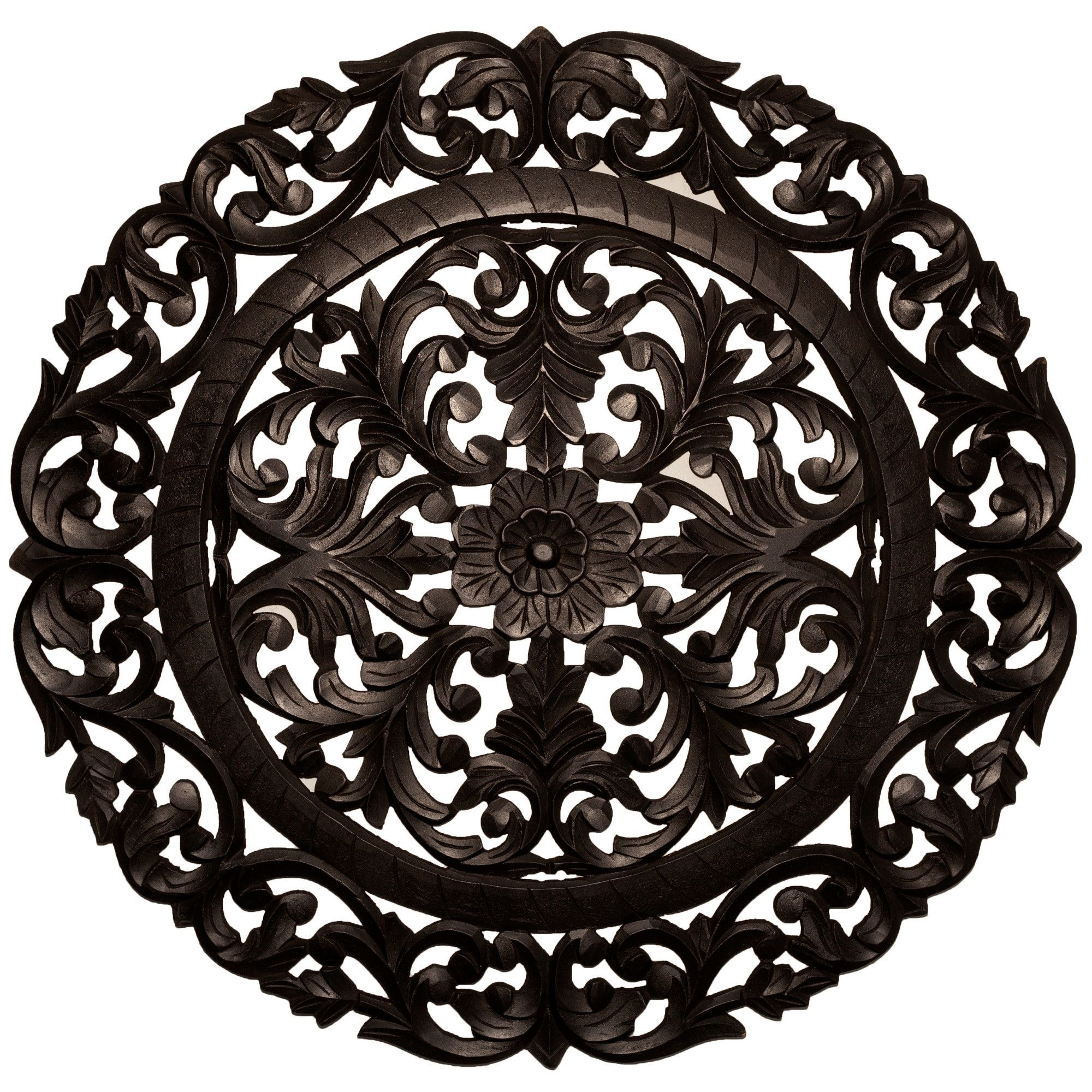 Leroy Handcrafted Medallion Wall Decor | Wayfair | Building The Nest With Regard To Most Popular Medallion Wall Art (Gallery 18 of 20)