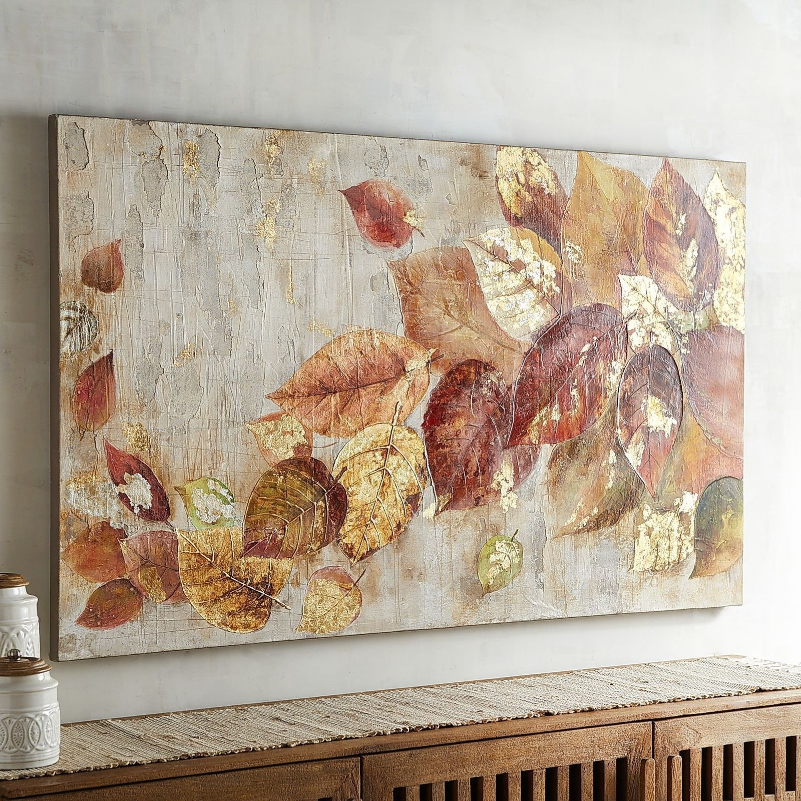 Let Our Lovely Leaves Add Naturally Sophisticated Style To Your Home for Latest Pier 1 Wall Art
