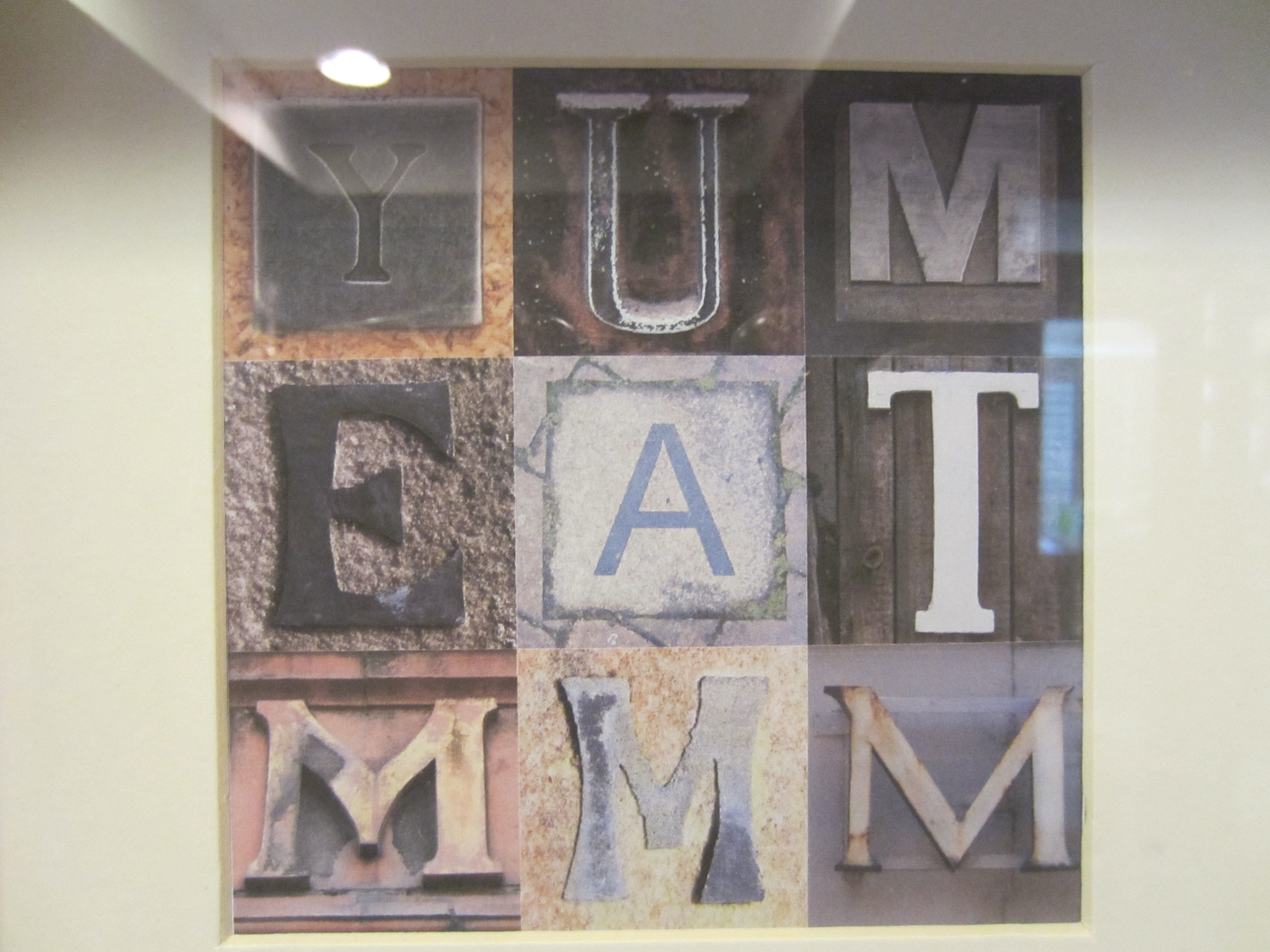 Letter And Number Diy Wall Art – Diy Inspired Within Most Current Letter Wall Art (View 8 of 20)