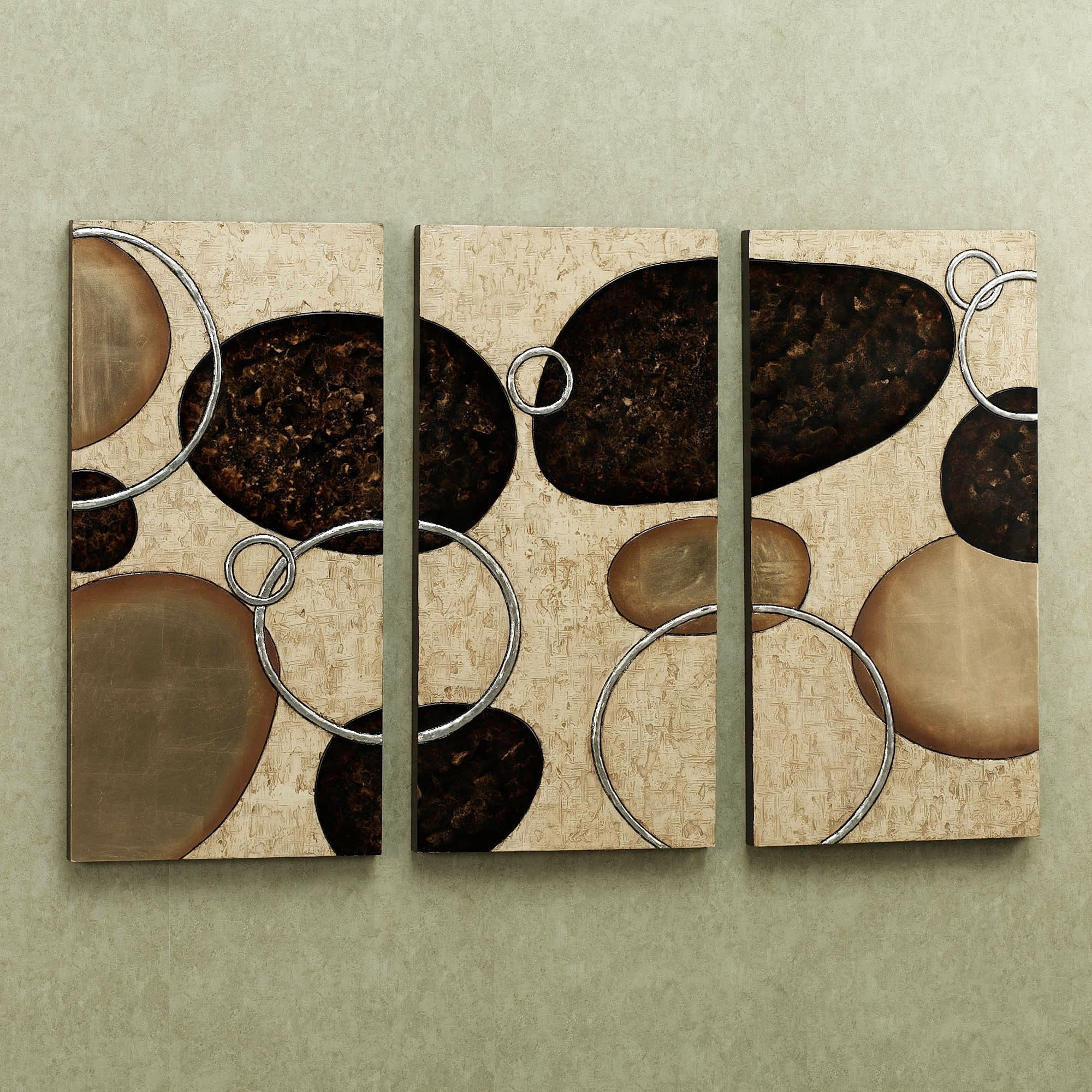 Levitate Triptych Wall Art Set For Most Recent Triptych Wall Art (Gallery 14 of 20)