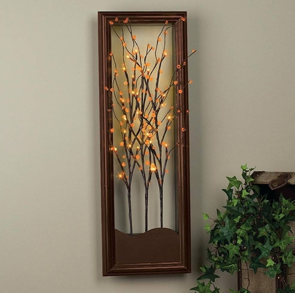 Lighted Wall Art Cool Lighted Wall Art – Wall Decoration And Wall For Most Popular Lighted Wall Art (View 2 of 20)