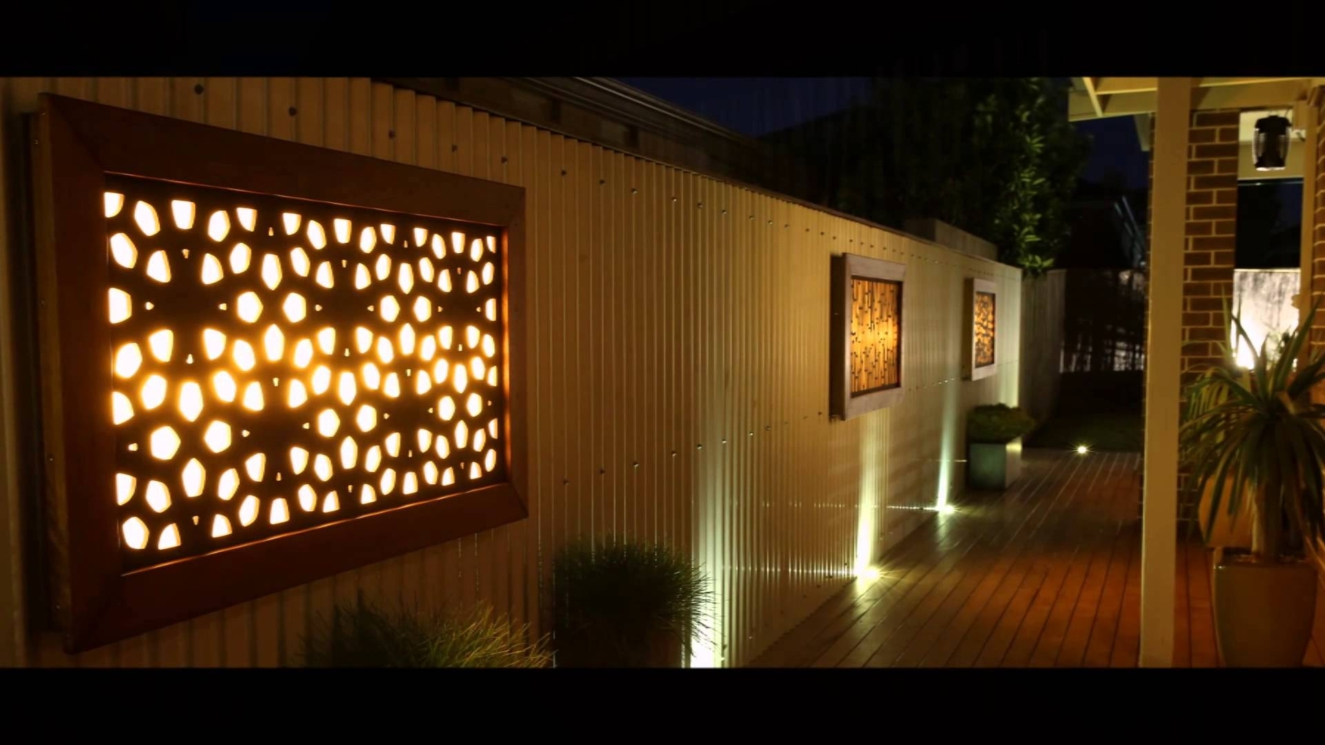 Litecrafts – Wall Art – Outdoor Feature Led – Light Boxes And Within Best And Newest Outdoor Wall Art (Gallery 9 of 15)