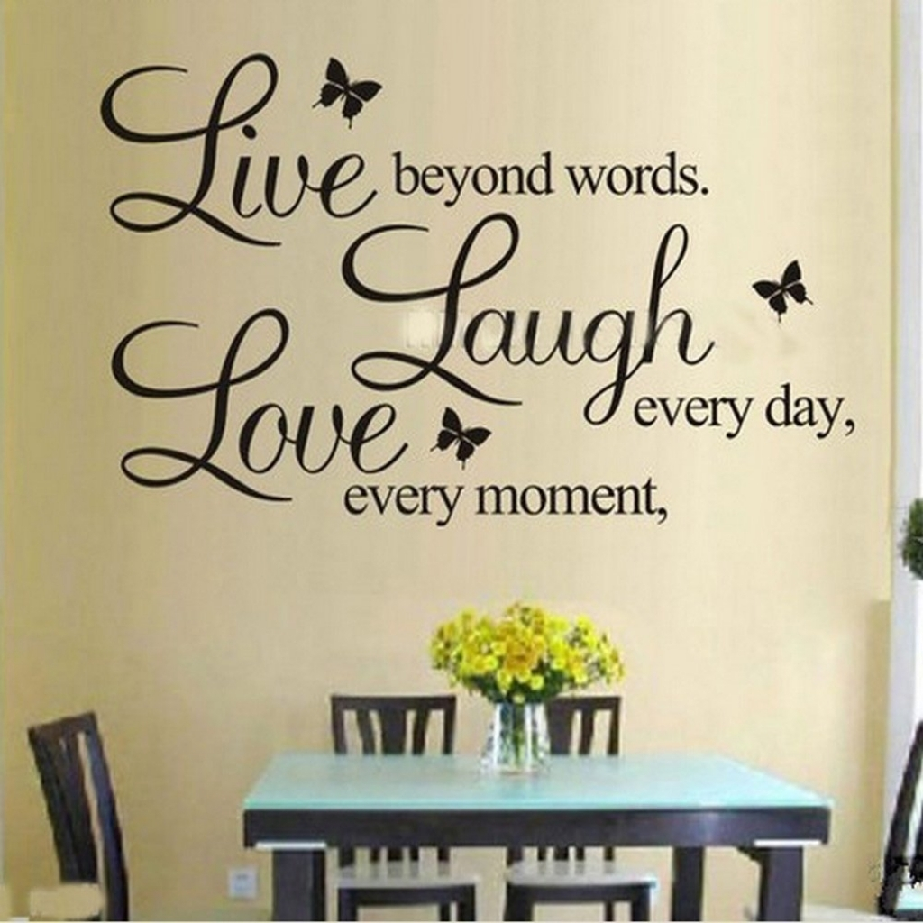 Live Laugh Love Wall Art Fabulous Live Love Laugh Wall Decor Inside with regard to 2017 Live Laugh Love Wall Art