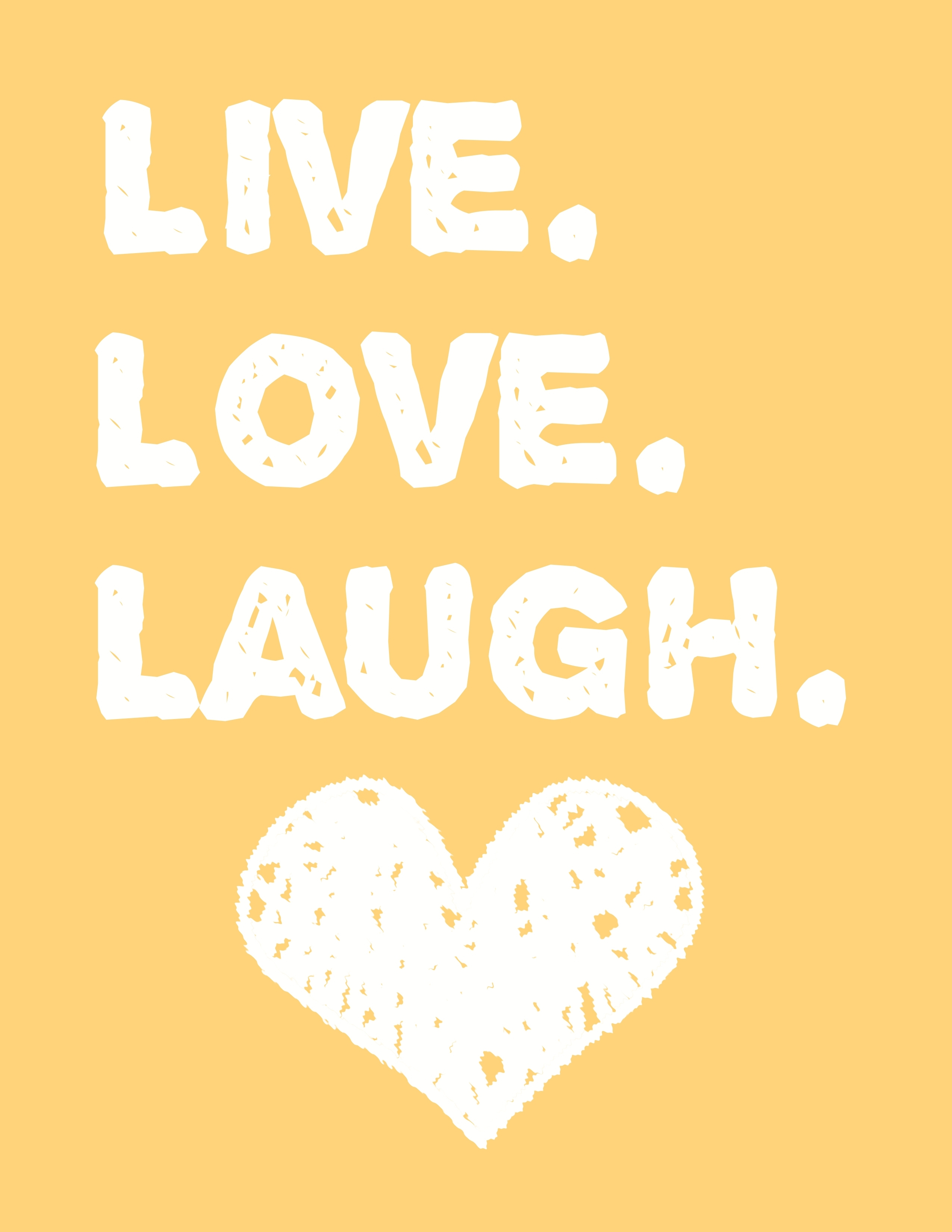 Live Love Laugh Wall Art – A Free Printable! – Moms And Crafters Regarding Most Current Free Printable Wall Art (Gallery 5 of 20)
