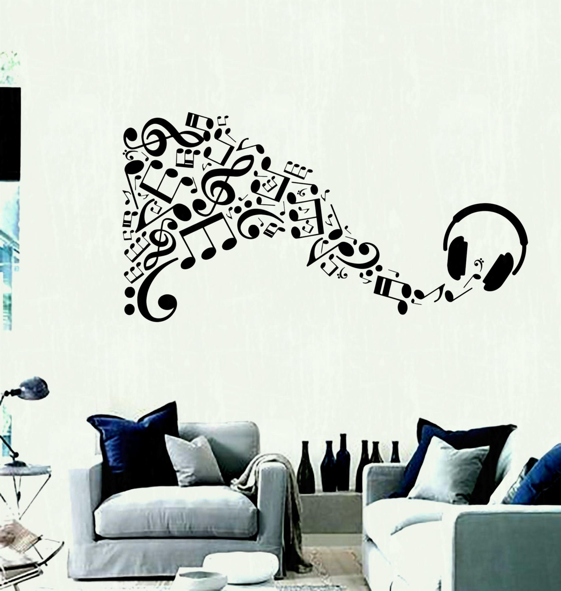 Living Room : Creative Painting Ideas For Walls With White Wall Within Most Recently Released Art For Walls (Gallery 7 of 20)