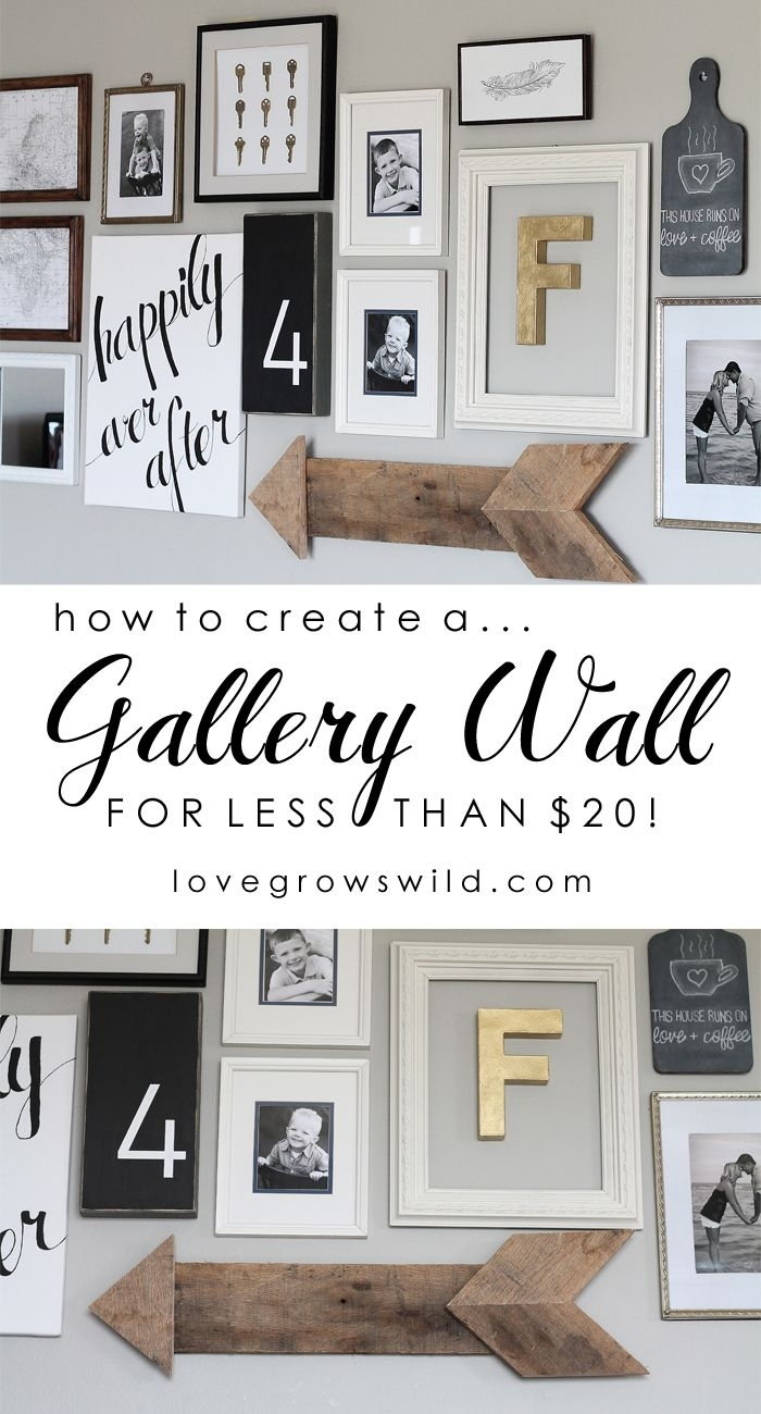 Living Room Gallery Wall | Future House Plans | Pinterest | Gallery Inside Most Recently Released Wall Art Cheap (Gallery 4 of 20)