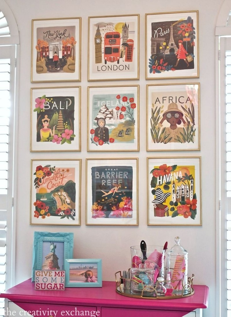 Living Room Wall Decor: 10 Vintage Lifestyle Posters – Inspirations Within Current Vintage Wall Art (Gallery 7 of 15)