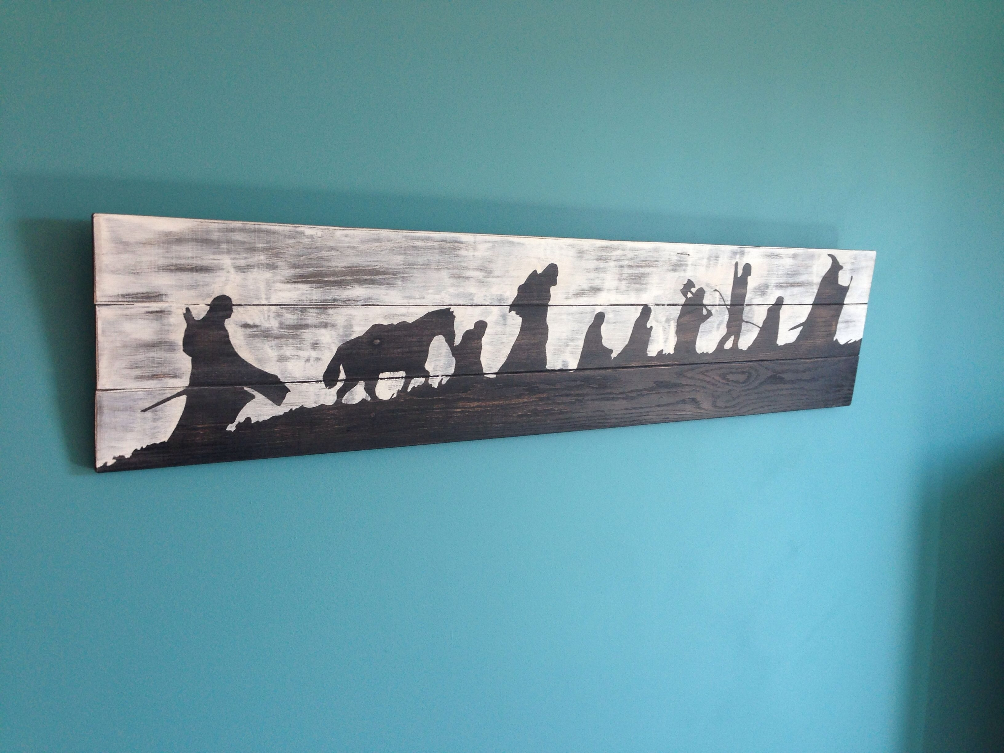 Lord Of The Rings Wall Art | Diy And My House | Pinterest | Lord With Regard To Latest Lord Of The Rings Wall Art (View 11 of 20)
