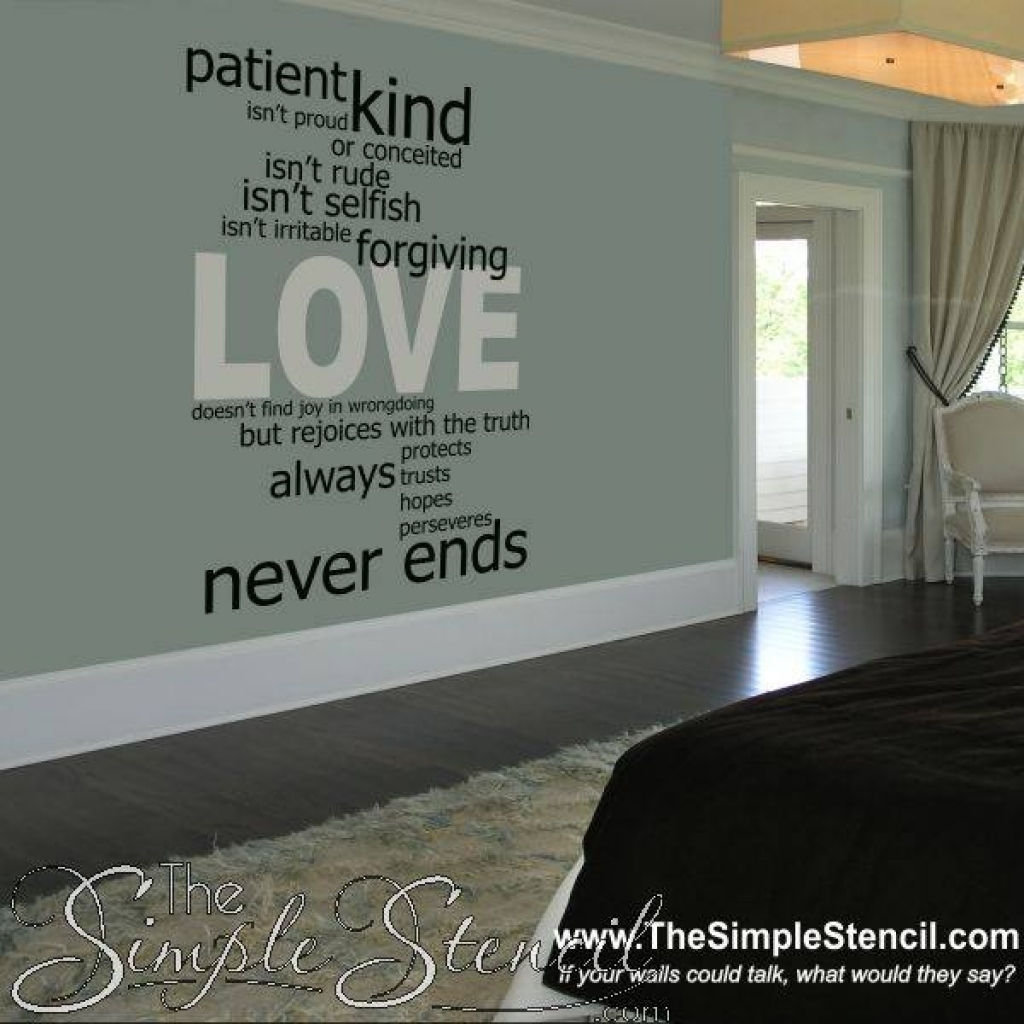Love Is Patient Wall Art – Www (View 15 of 20)