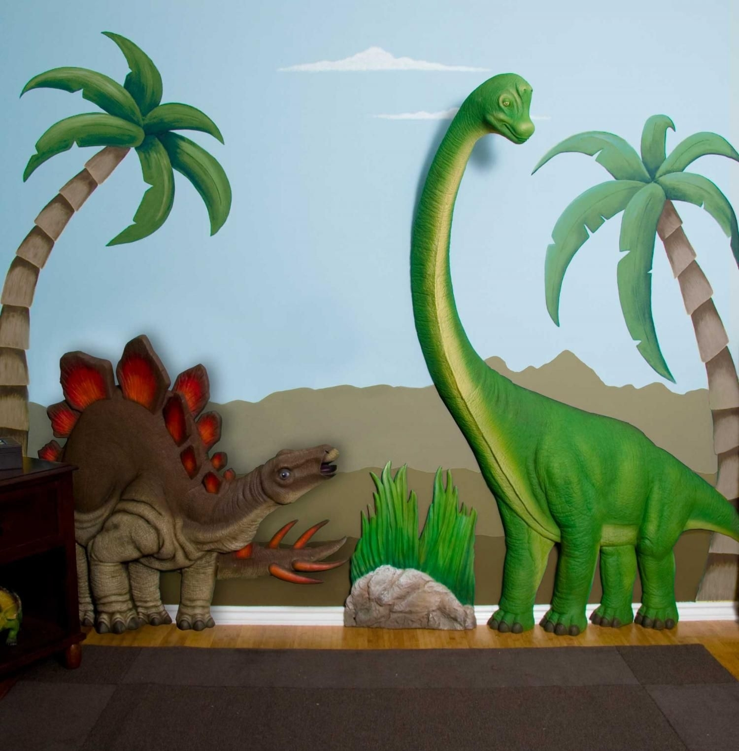 Love This!! Wonder If I Have A Sponsor Who Wants To Gift This To The Pertaining To Latest Dinosaur Wall Art (View 6 of 20)