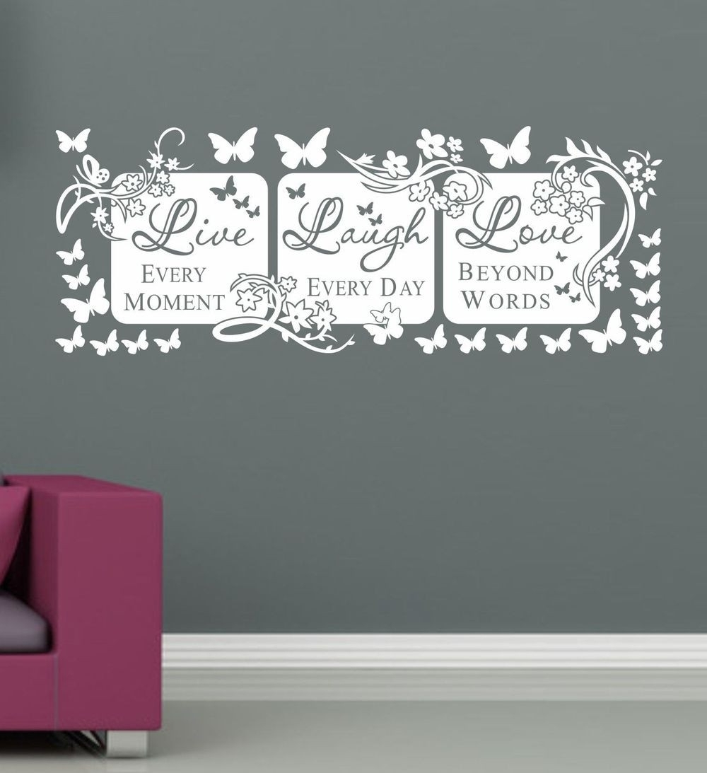 Lovely Canvas Wall Art Live Laugh Love | Wall Decorations Pertaining To Current Live Laugh Love Wall Art (View 17 of 20)