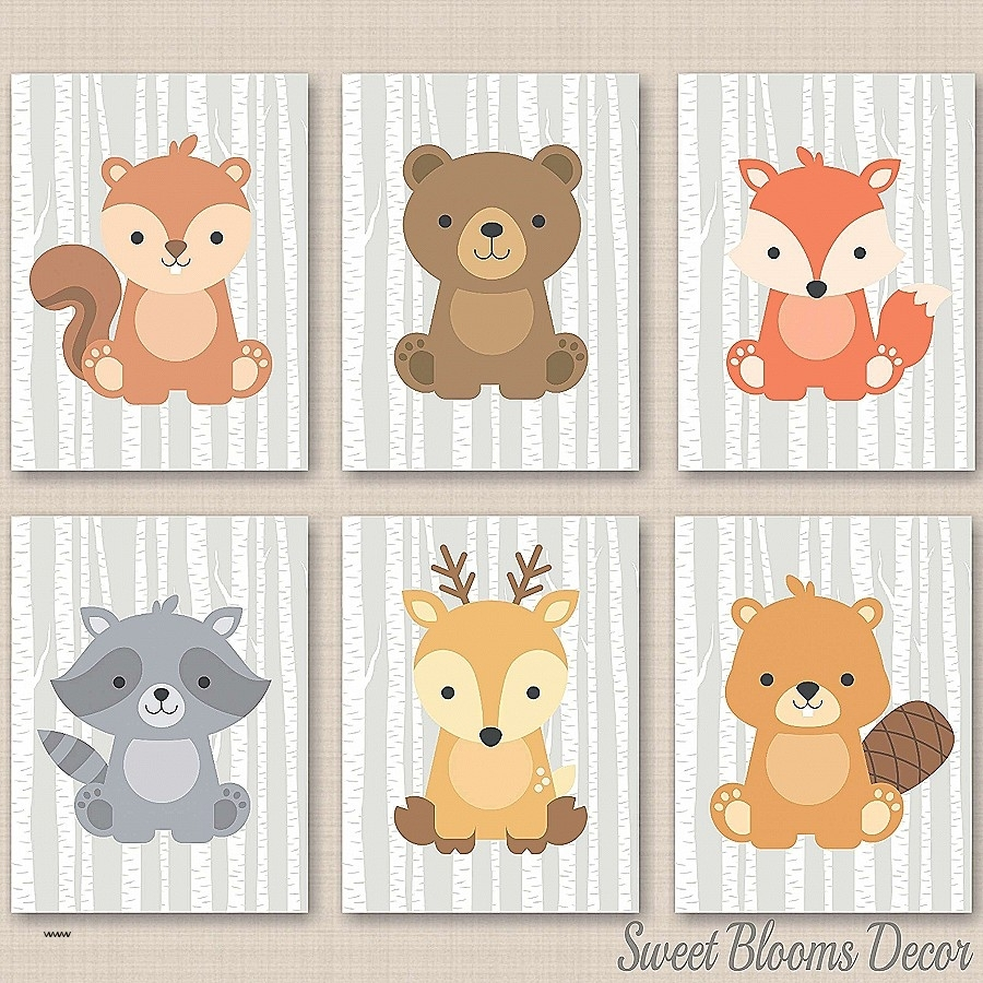 Lovely Woodland Nursery Wall Art | Heathen6 Throughout Most Current Woodland Nursery Wall Art (View 5 of 20)