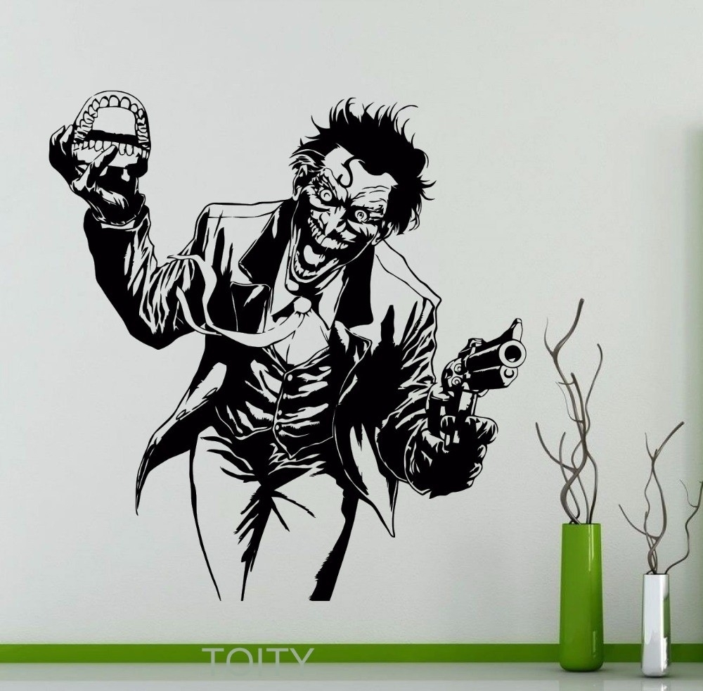 Luxury Joker Wall Art | About My Blog For Best And Newest Joker Wall Art (View 15 of 20)