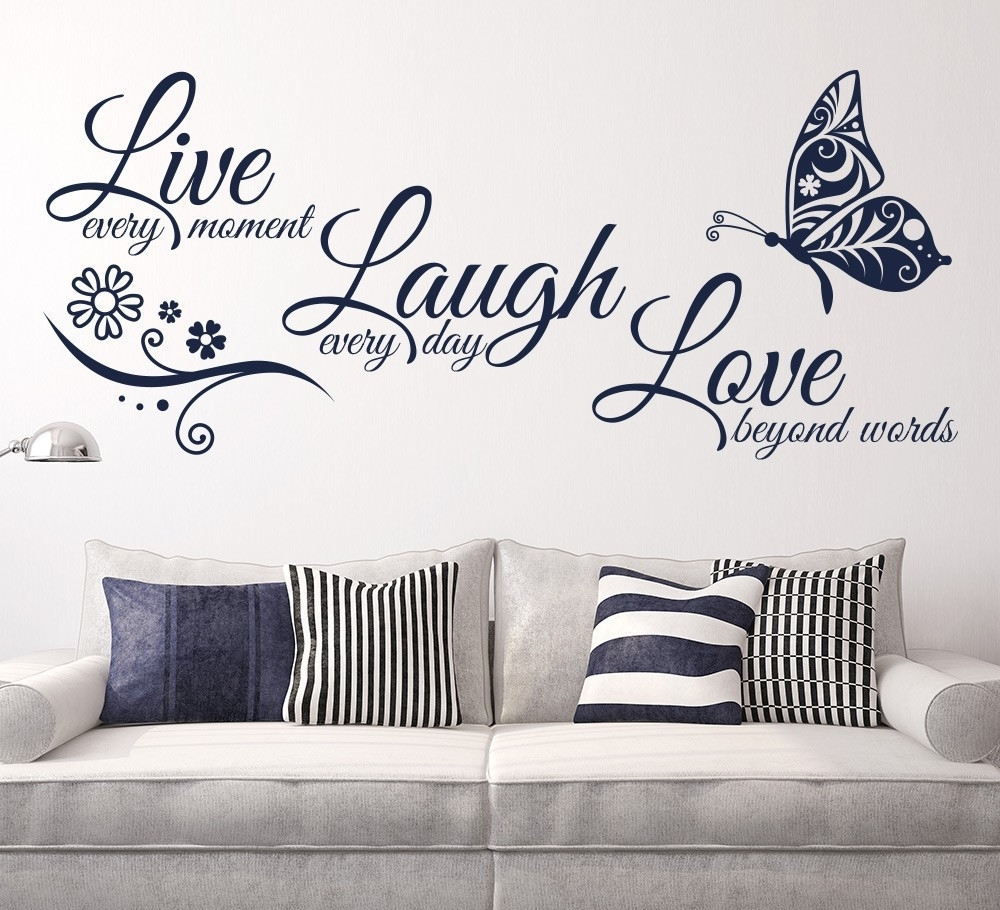 Luxury Live Laugh Love Wall Art Scheme Of Live Laugh Love Wall with Most Recent Live Laugh Love Wall Art