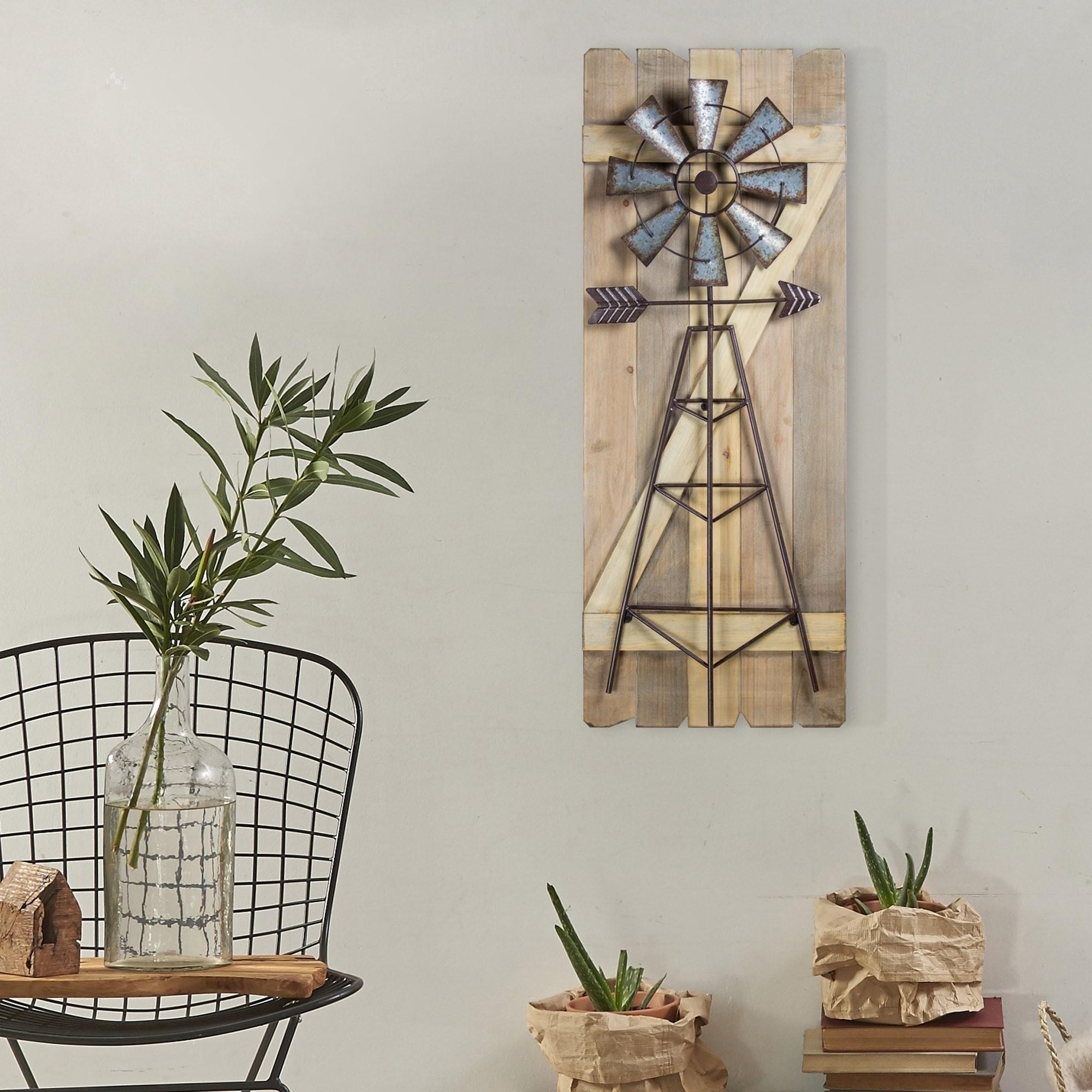 Magnificent Metal Windmill Wall Decor Crest Wall Art Ideas For 2018 Windmill Wall Art (Gallery 6 of 20)