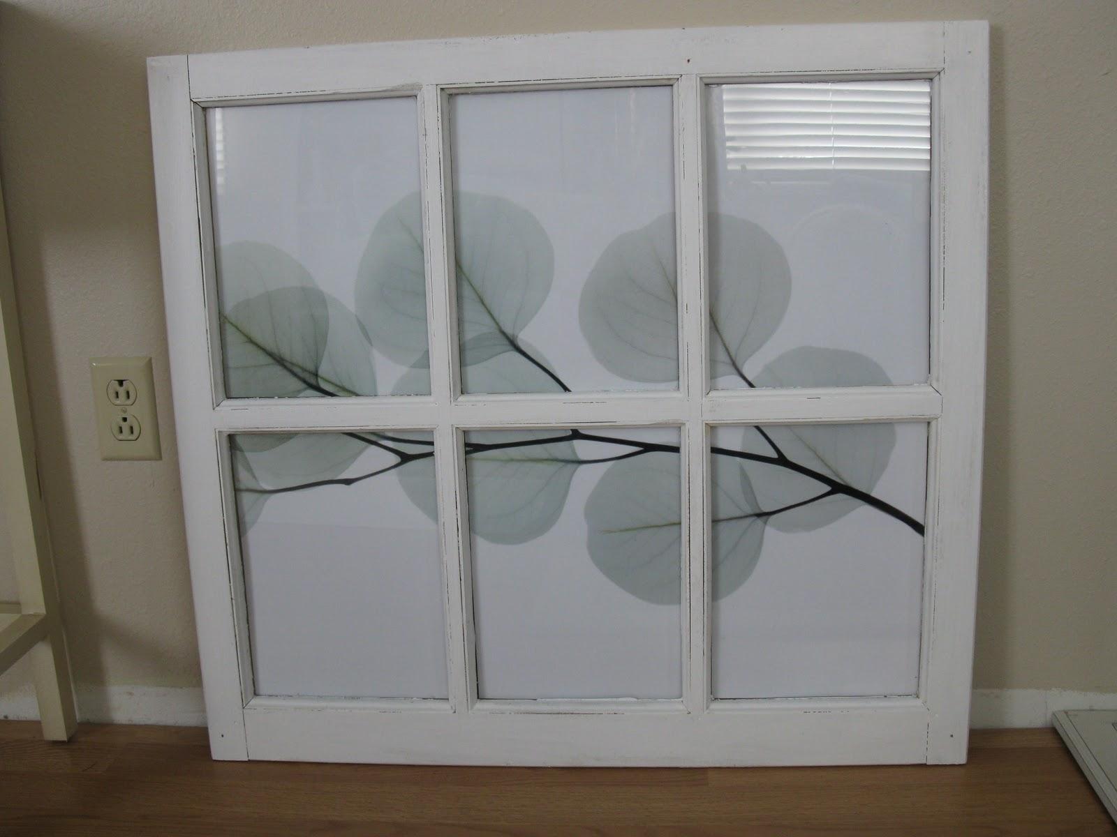 Make Window Frame Wall Art – Tierra Este | #43431 With Latest Window Frame Wall Art (Gallery 5 of 15)