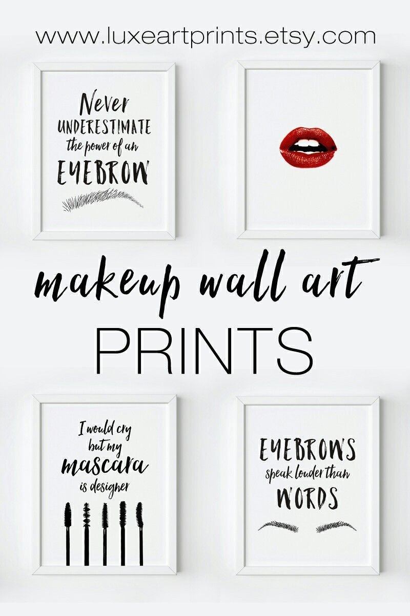 Makeup Wall Art Printables Design Ideas Of Tumblr Wall Stickers In Most Recent Tumblr Wall Art (Gallery 11 of 20)