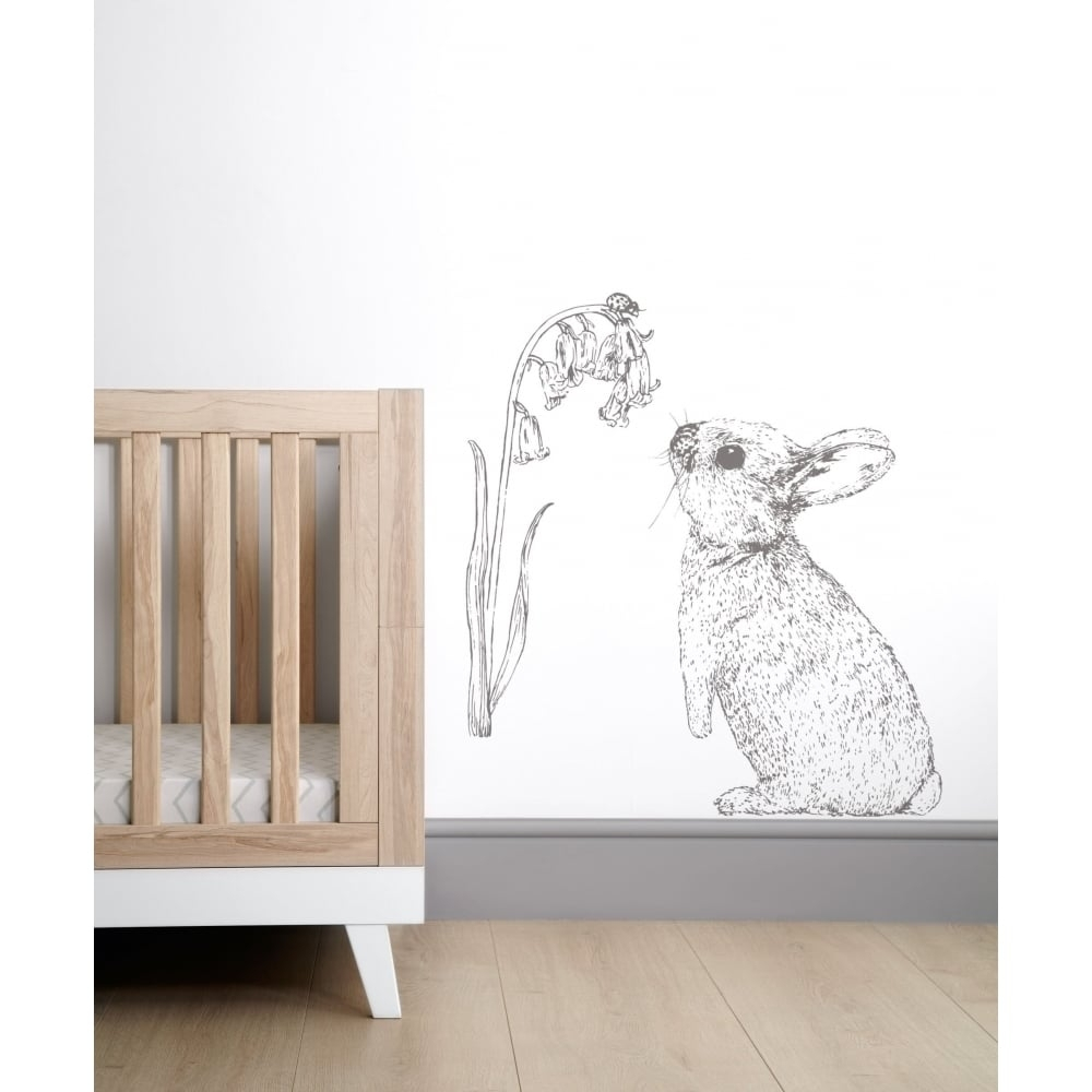 Mamas & Papas Wall Art – Rabbit – Bedding, Nursery & Moses Baskets With Regard To 2017 Bunny Wall Art (View 2 of 20)