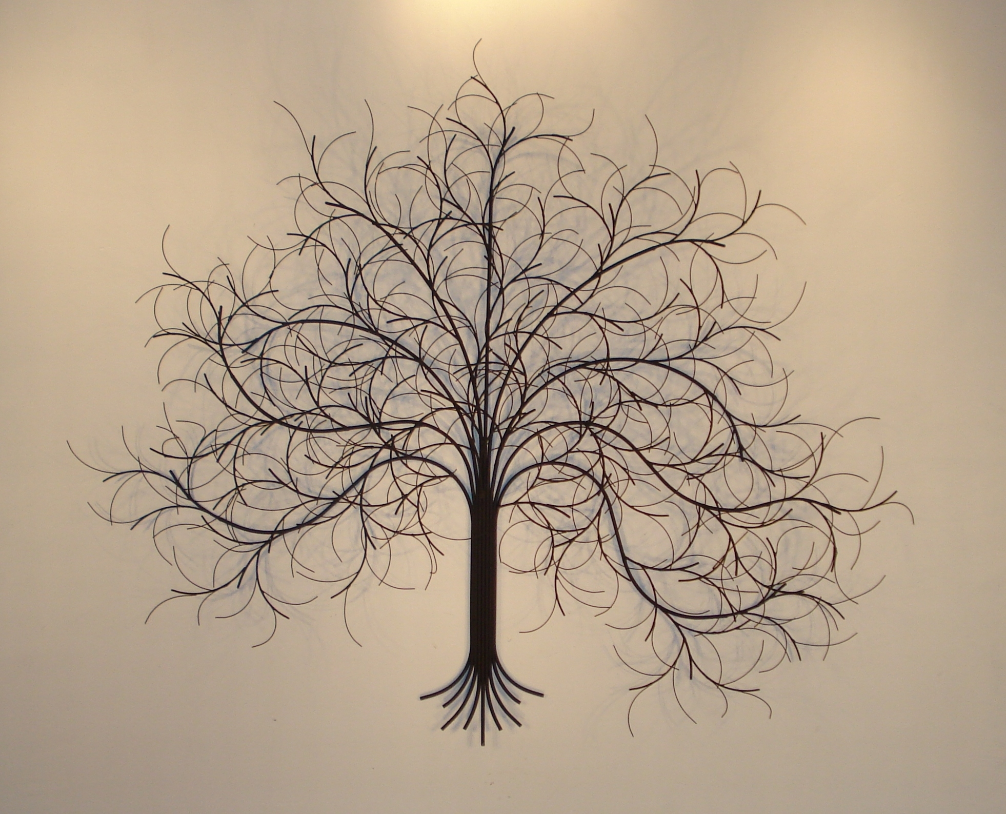 March Tree Metal Wall Art – Metal Sculpture And Wall Decor – Gurtan Inside Latest Metal Tree Wall Art (Gallery 4 of 15)