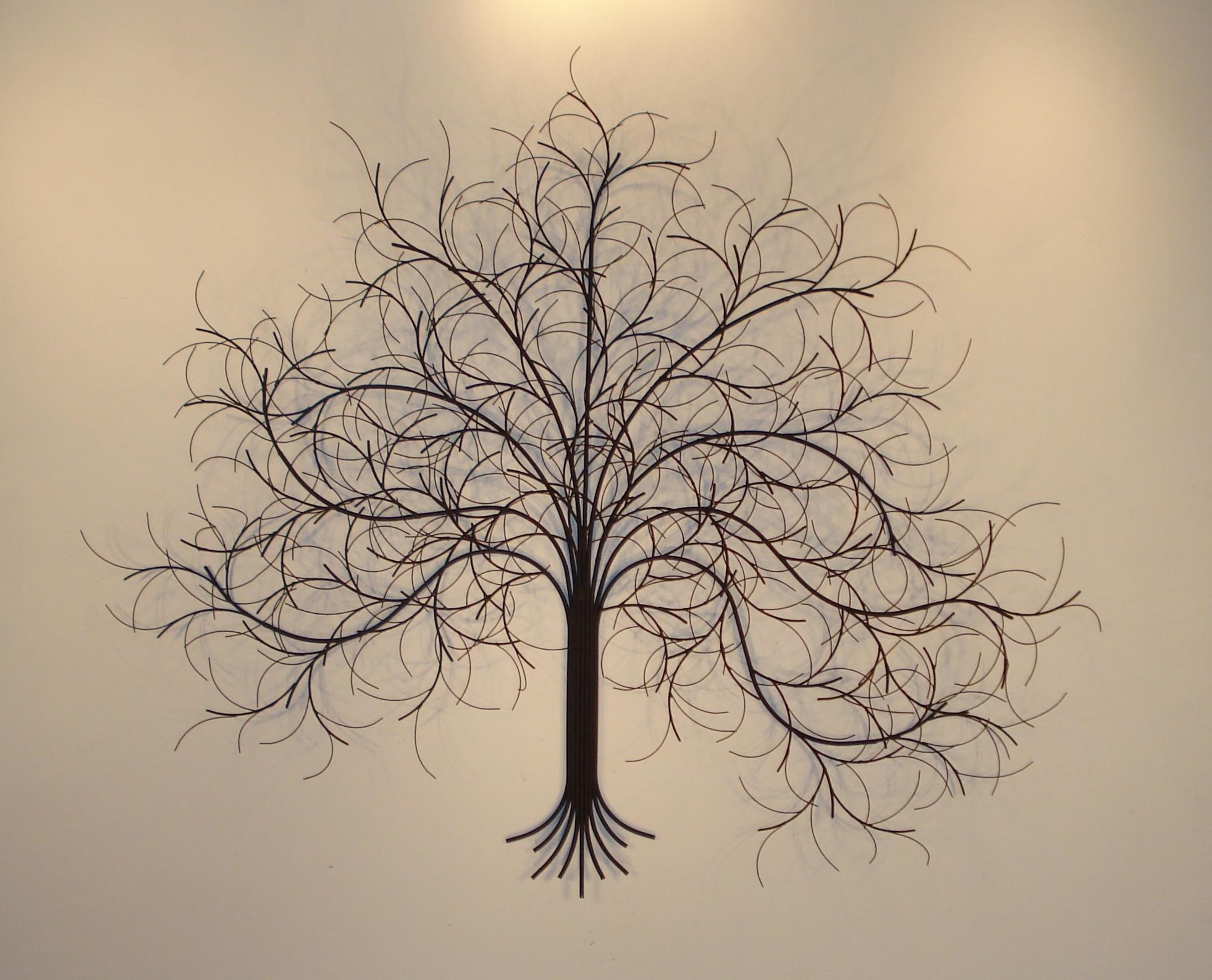 March Tree Metal Wall Art – Metal Sculpture And Wall Decor – Gurtan Inside Latest Metal Tree Wall Art (View 4 of 15)