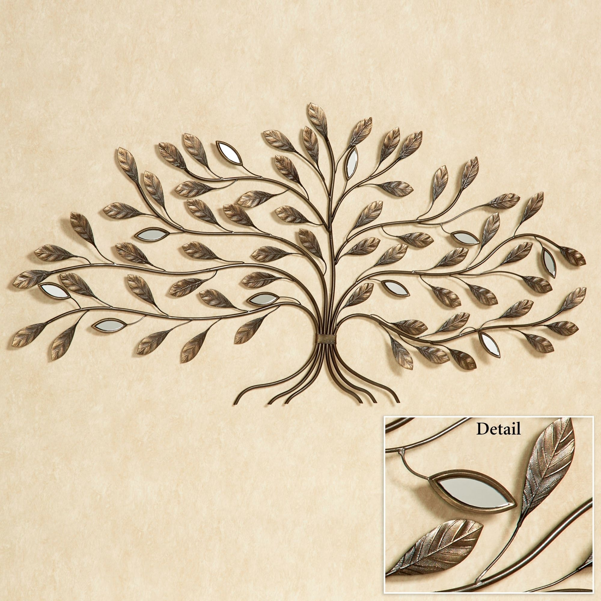 Marielle Tree Metal Wall Art Within Latest Metal Tree Wall Art (View 6 of 15)