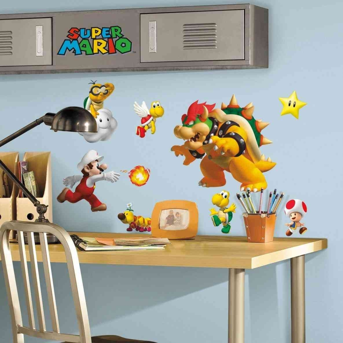 Mario And Luigi Wall Decals | Flooring And Wall Art Ideas For Most Recently Released Nintendo Wall Art (View 8 of 20)