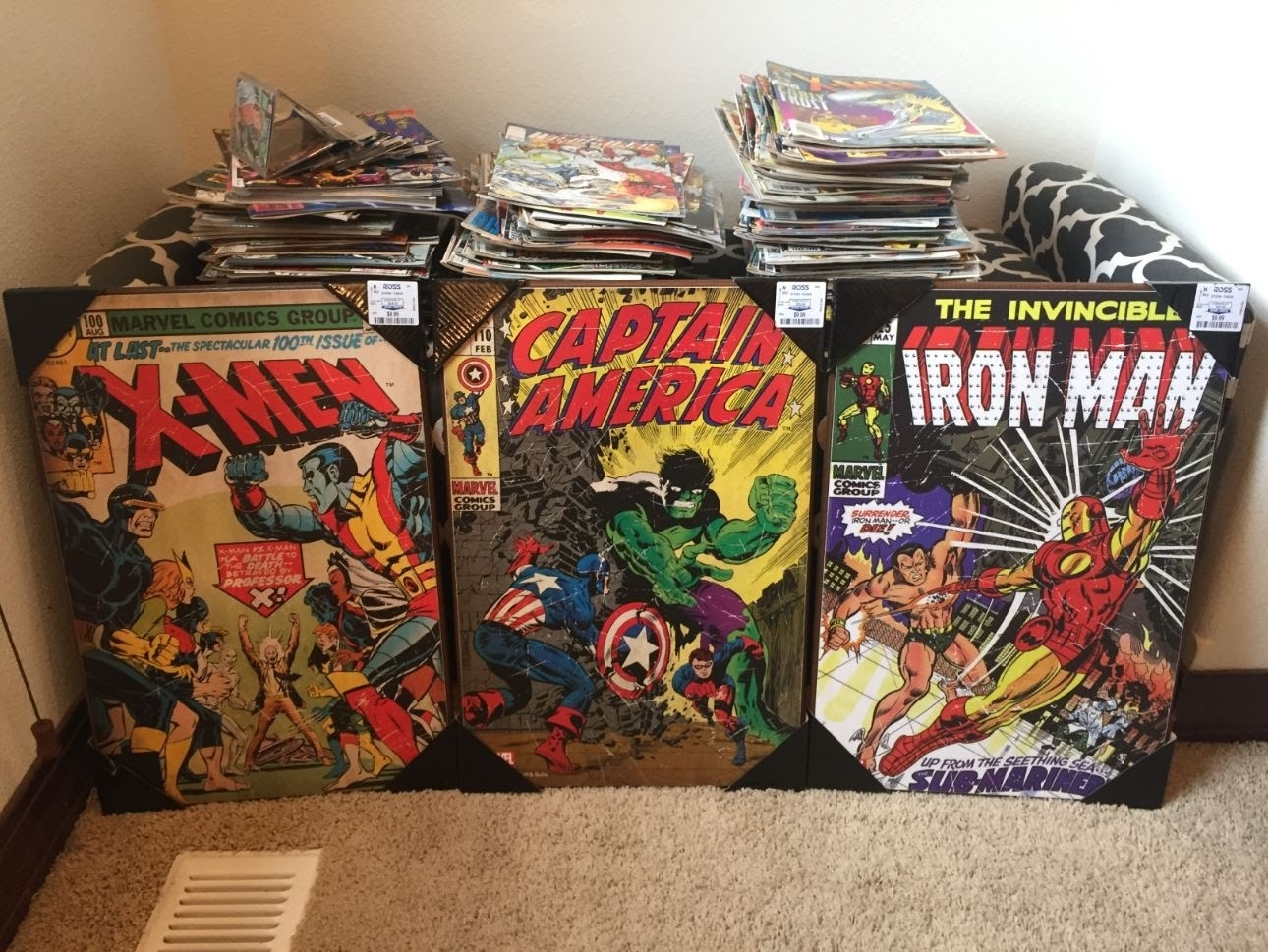 Marvel Comics Wall Art – Youtube Pertaining To Latest Ross Wall Art (Gallery 2 of 20)