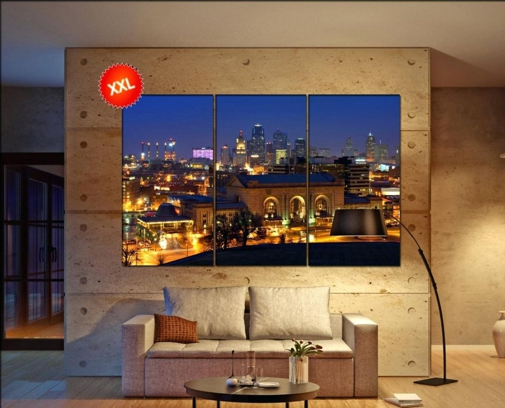 Marvelous Nice Looking Kansas City Wall Art Ikea Royals Skyline Regarding Most Up To Date Kansas City Wall Art (View 5 of 20)