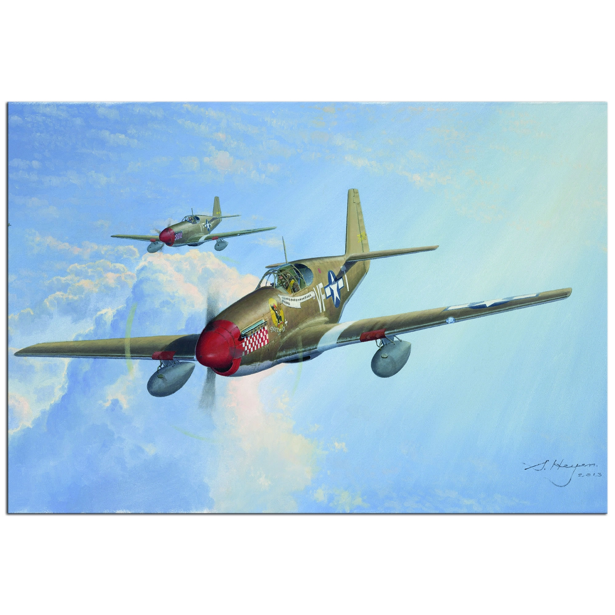 Metal Art Studio – P51 – Large Indoor/outdoor Aviation Metal Wall With Most Current Aviation Wall Art (View 17 of 20)