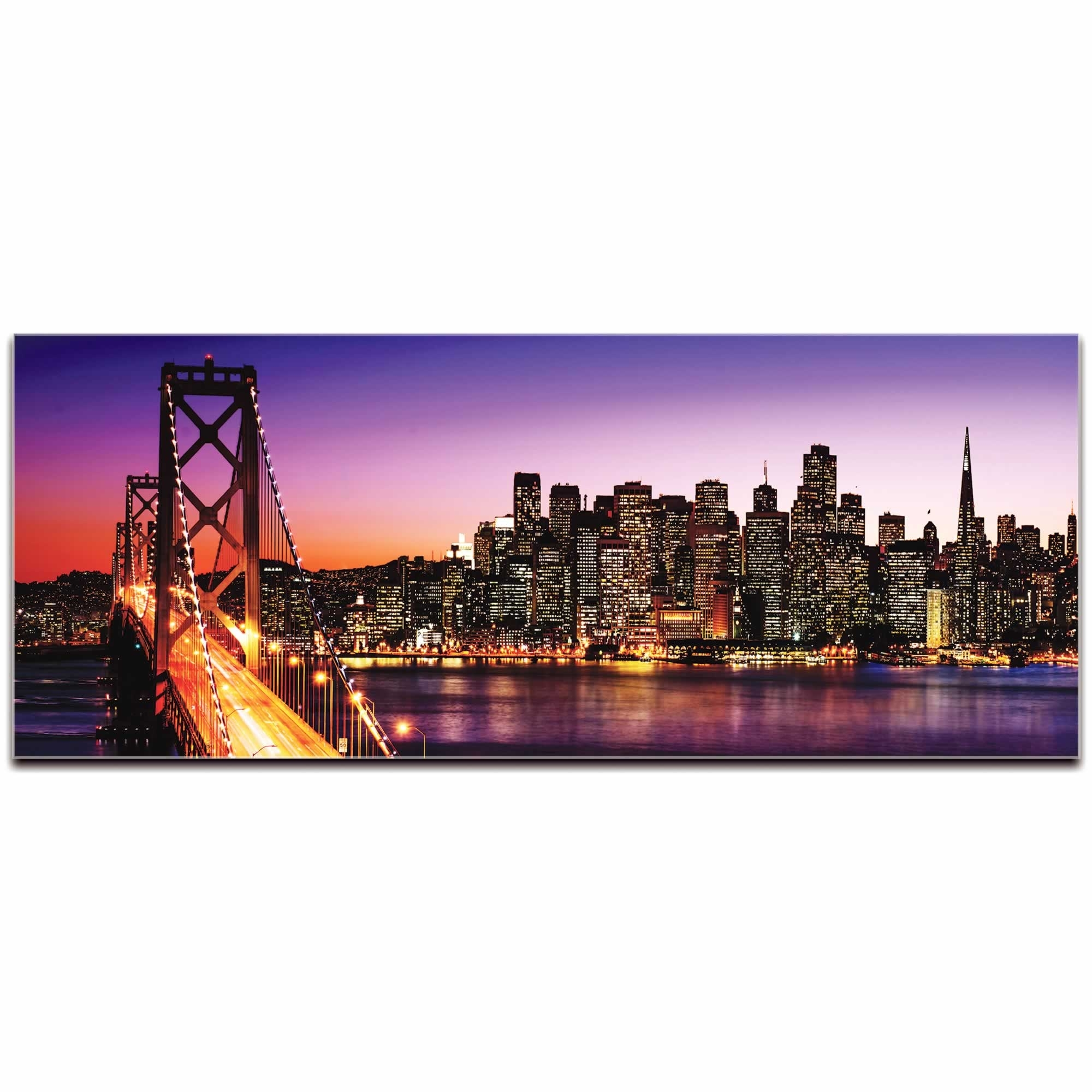 Metal Art Studio – San Francisco City Skyline | Urban Modern Art Regarding Most Current San Francisco Wall Art (View 9 of 20)