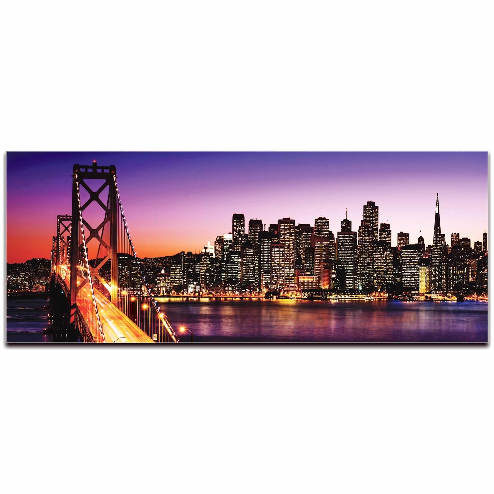 Metal Art Studio – San Francisco City Skyline | Urban Modern Art Regarding Most Current San Francisco Wall Art (View 6 of 20)